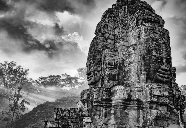 William Frej, 'Bayon, Cambodia', 2016, Peyton Wright Gallery