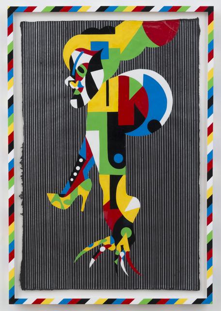 , 'TBT (Baw stripe),' 2014, Casa Triângulo