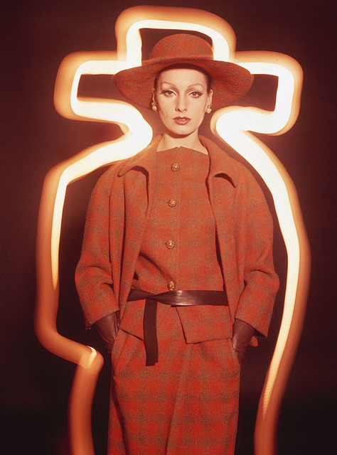 , 'Antonia + Orange Plaid, Paris (Vogue),' 1962, Grob Gallery