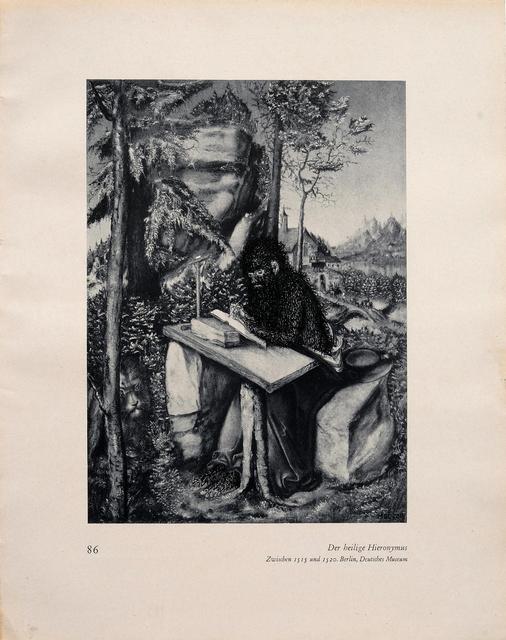 , '86 Der heilige Hieronymus (Love Paintings),' 2016, Casa Triângulo