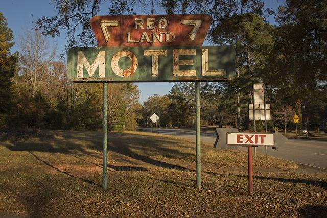, 'Late Harvest: Redland Motel, Washington Georgia,' 2017-printed 2018, Thomas Deans Fine Art