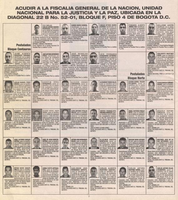 , 'Dar la cara (24 paramilitares desmovilizados por segundo),' 2013, Ignacio Liprandi Arte Contemporáneo