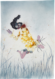 Wangechi Mutu, 'I never asked you to listen,' 2004, Phillips: New Now (February 2017)