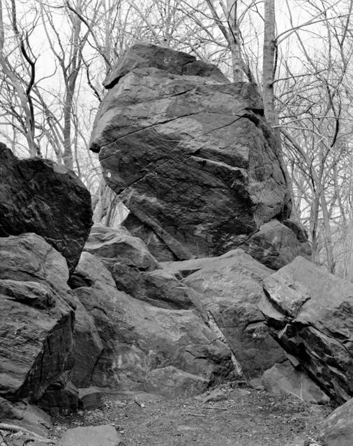 , 'Indian Prayer Rock, Pelham Bay Park, Bronx,' 2014, Yancey Richardson Gallery