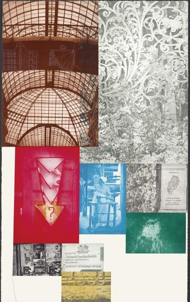 Robert Rauschenberg, 'Soviet / American Array ll, ed. 18/55,' 1990, Zane Bennett Contemporary Art