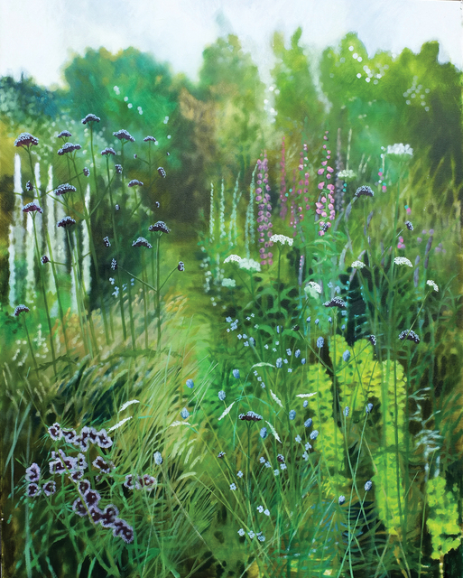 , 'Dorset Summer Garden II,' 2018, Hybrid Gallery