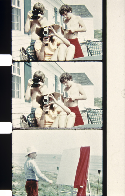 , 'Anthony Radziwill, John Kennedy Jr., and Lee Radziwill Filming Jonas Mekas, Montauk, Summer 1971,' 2013, Deborah Colton Gallery