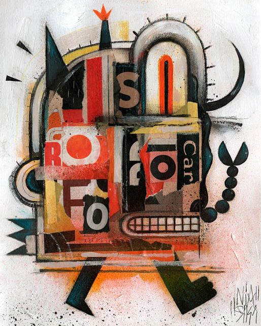 Niark1 Sebastien Feraut, 'Car', 2018, Saguaro Gallery