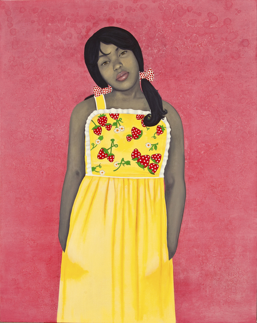 Amy Sherald, 'They call me Redbone but I'd rather be Strawberry Shortcake', 2009, National Museum of Women in the Arts
