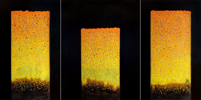 Hyun Ae Kang, 'Windows in Heaven Trilogy', 2021, Painting, Oil and resin on canvas, BOCCARA ART