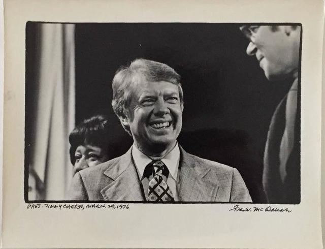 Fred W. McDarrah, 'Pres. Jimmy Carter, March 29, 1976', 20th Century, Lions Gallery
