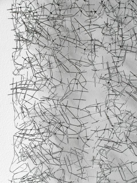 Hans Houwing, 2005, Sculpture, Square mesh 12 mm., PHOEBUS• Rotterdam