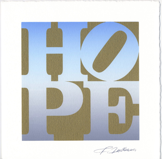 , 'HOPE, Four Seasons Announcement,' 2010, Woodward Gallery