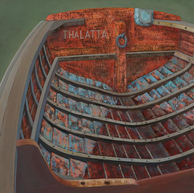 """, '""""Thalatta"""" Barge Boat,' , Dowling Walsh"""