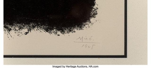 Joan Miró, 'Album 13', 1948, Print, Lithograph on paper, Heritage Auctions