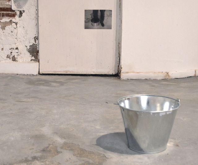 , 'BUCKET AND REFERENCE: ONE FOOT,' 2018, Hans & Fritz Contemporary