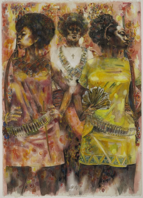 , 'Wives of Shango,' 1969, Brooklyn Museum