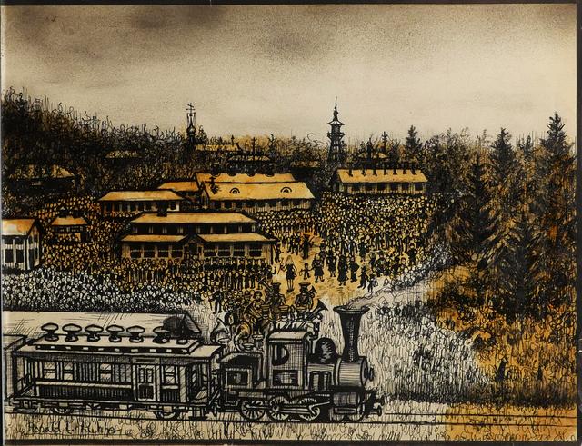 , 'Labor Service camp in White New Serbia,' 1959, Ricco/Maresca Gallery