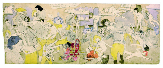 , 'At Calmanrina murdering naked little girls,' 1910-1970, Musée d'Art Moderne de la Ville de Paris