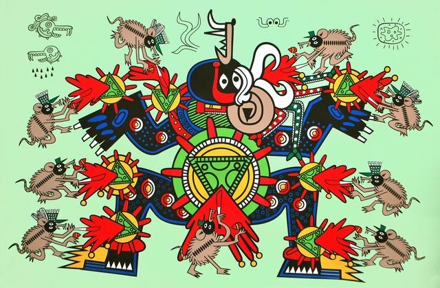 , 'Sacrificio del Deidad del Queso,' 2011, Ruiz-Healy Art