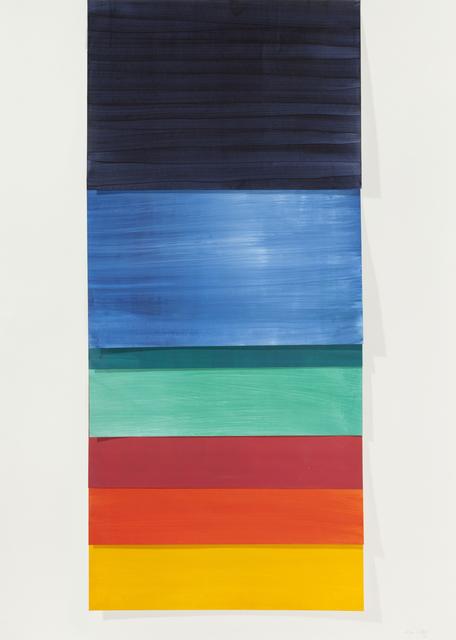 , 'Untitled CDE,' 2014, Galería Lucia de la Puente