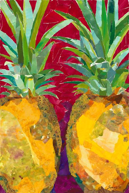 , 'Pineapple Pair,' 2019, Tiffany's Art Agency
