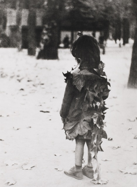 , 'Jardin de Luxembourg (Girl in Leaf Dress),' 1946-printed later, Tracey Morgan Gallery