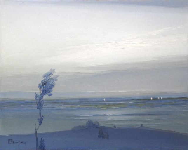 , 'Across the Hudson,' ca. 1905, Sullivan Goss