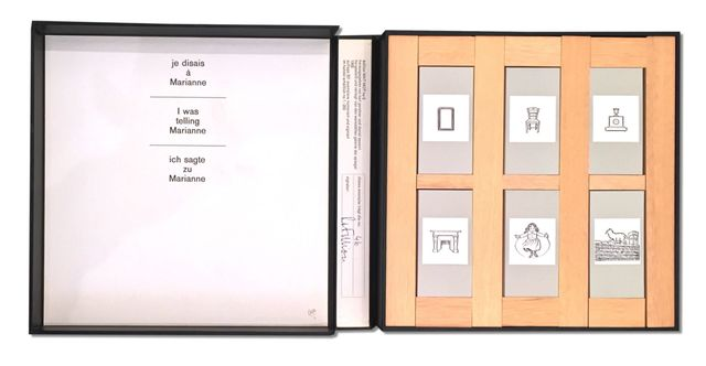 , 'Je Disais A Marianne, I was Telling Marianne,' 1965, Zucker Art Books