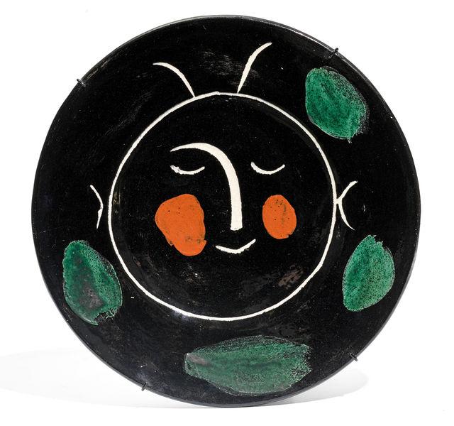 Pablo Picasso, 'From: Service visage noir', 1948, Design/Decorative Art, Ceramic Plate, Koller Auctions