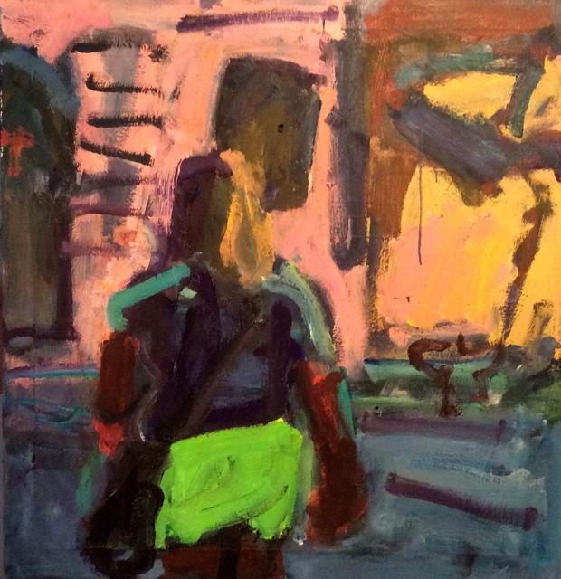 , 'Green Shorts (Belmont),' 2015, Stuart & Co. Gallery