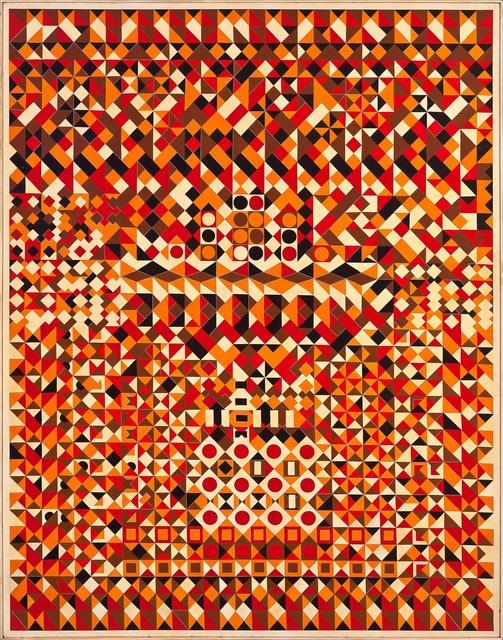 , 'Mosaico em Laranja,' ca. 1970, Ronie Mesquita Galeria