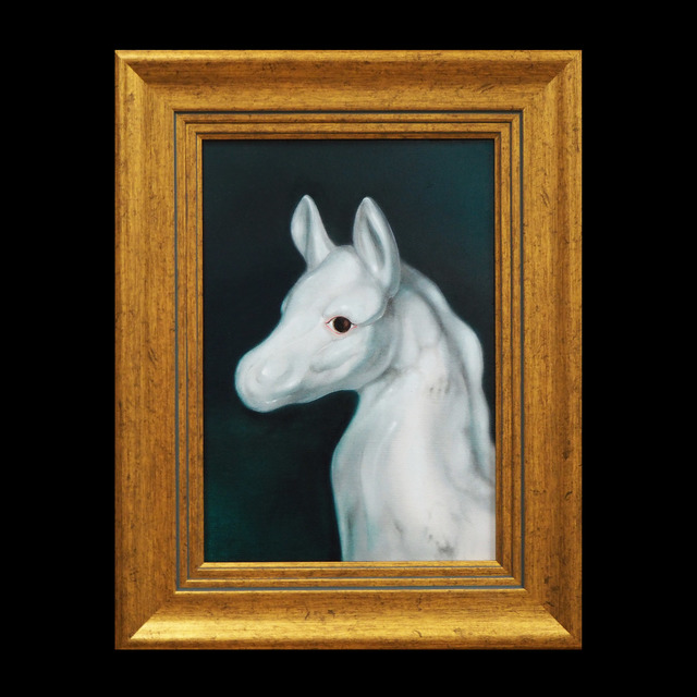 Lu Hao-Yuan, 'White Foal', 2020, Painting, Oil on canvas, LIN ART PROJECTS