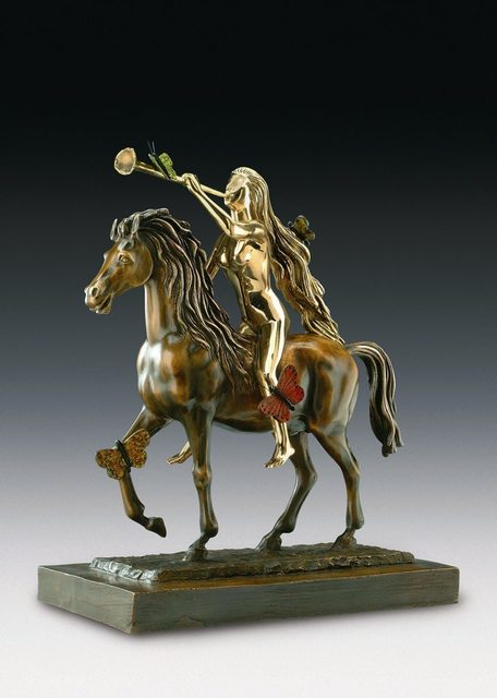Salvador Dalí, 'Lady Godiva With Butterflies', 1976-1984, Galleria Ca' d'Oro