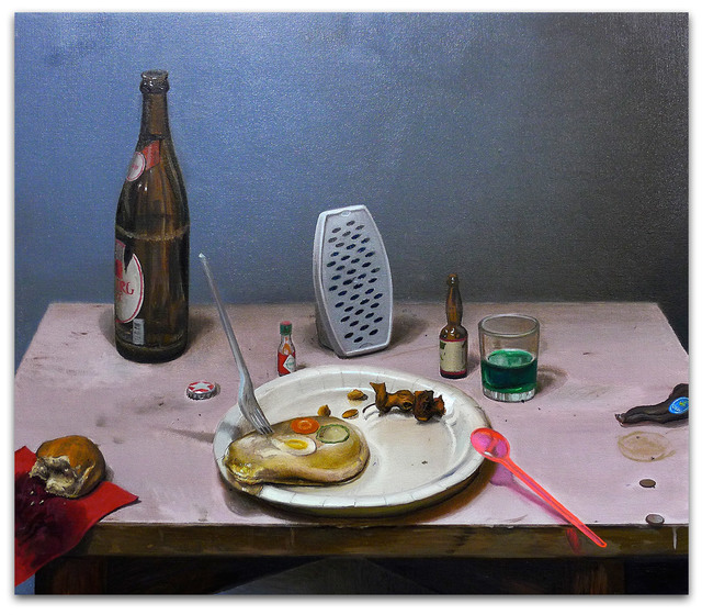, 'Schülzkottelet und Steine,' 2016, Gerhard Hofland