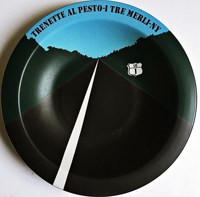 Allan D'Arcangelo, 'Trenette Al Pesto - I Tre Merli - New York, NY', 1998, Alpha 137 Gallery