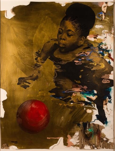 , 'Tagged: Treading,' 2017, Ed Cross Fine Art