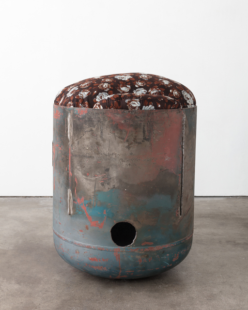 , 'Untitled (Pod, Brown Floral, 2),' 2018, 303 Gallery