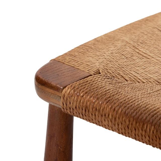 Hans Jørgensen Wegner, 'CH22 easy chair', 1950, Design/Decorative Art, Frame and back in oak with original paper cord seat, Dansk Møbelkunst Gallery