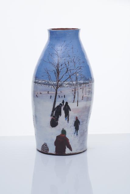 , 'Tottenham: Sledging at Broadwater,' 2018, Zuleika Gallery