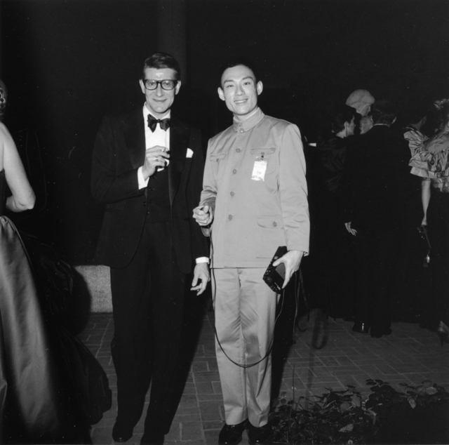 , 'Yves Saint Laurent and Tseng Kwong Chi,' 1980, Grey Art Gallery