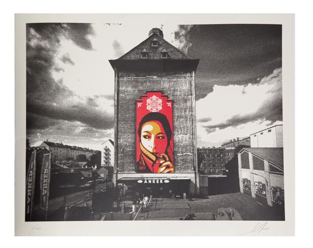 Shepard Fairey (OBEY), 'Commanda Mural', 2015, Perry J. Cohen Foundation Benefit Auction