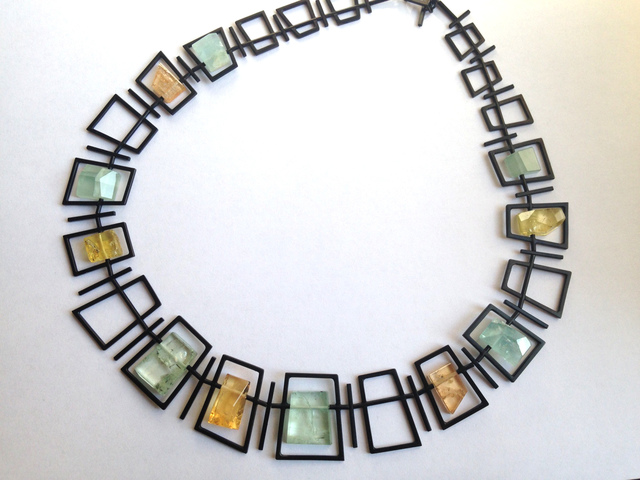 , 'Framed Necklace,' 2016, Mobilia Gallery