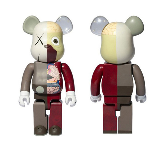 KAWS, 'Bearbrick Dissected 1000% Brown ', 2010, End to End Gallery