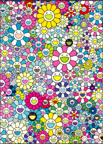 Takashi Murakami, 'I LOOK BACK AND THERE, MY BEAUTIFUL MEMORIES', 2018, Print, 4c offset + cold stamp, Dope! Gallery