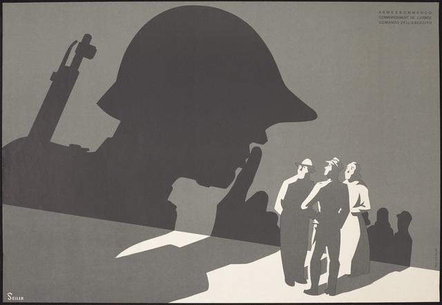 , 'Armeekommando / Commandement de l'armée / Comando dell'esercito (Army Command),' 1940, de Young Museum