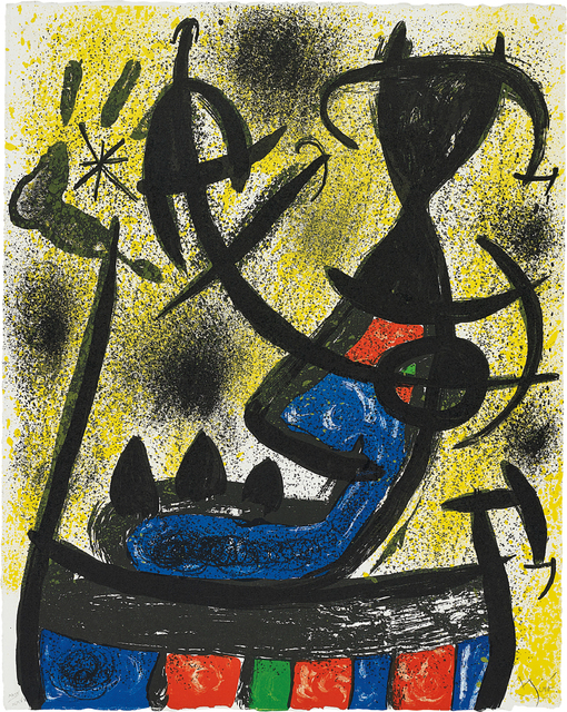 Joan Miró, 'Il Circulo de piedra (The Circle of Stone): one plate', 1971, Phillips