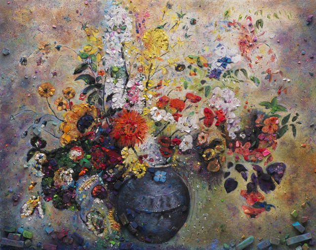 , 'Metachrome (Flowers, after Odilon Redon II),' 2016, Ben Brown Fine Arts
