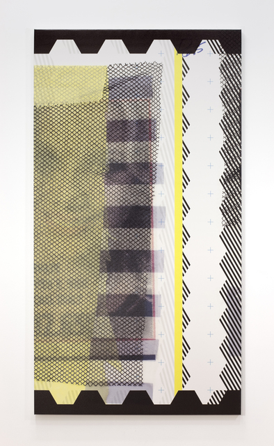 Sean Paul, 'SP006_5_65x35_2014', 2014, Painting, Ultraviolet-curable ink and acrylic on canvas, Thomas Duncan Gallery