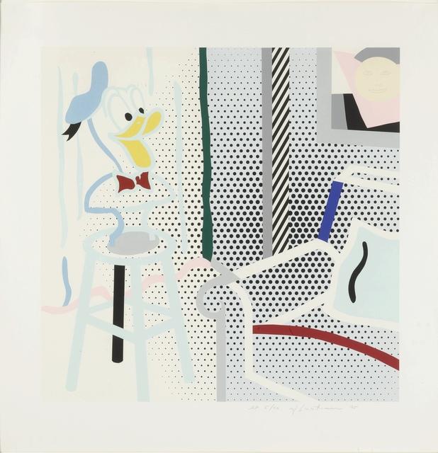 Roy Lichtenstein, 'Virtual Interior: Portrait of a Duck Corlett 294', 1995, Fine Art Mia